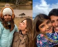 Grazi Massafera e Cauã Reymond fazem homenagem para filha que completa 8 anos