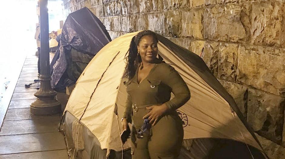 A liberiana Siah Kamano (Foto: Estadão Conteúdo)