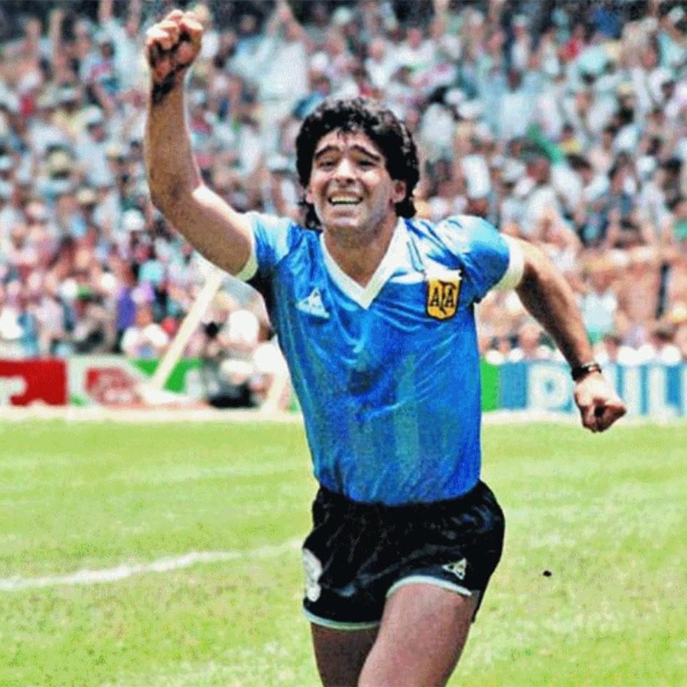 Morre Diego Maradona — Foto: Reprodução/Instagram