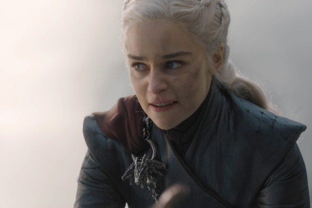 Daenarys Targaryen perdeu a cabeça no penúltimo episódio de Game of Thrones (Foto: reprodução)