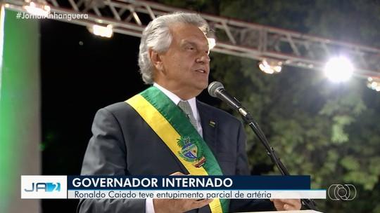 Médicos fazem angioplastia e colocam stent em Ronaldo Caiado, governador de Goiás