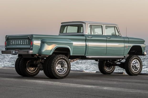 A carroceria e chassi são de gerações diferentes da picape Chevrolet (Foto: Divulgação)