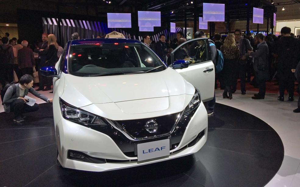 Nissan venderá carro elétrico Leaf no Brasil (Foto: Luciana de Oliveira / G1)