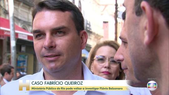 Ministério Público Estadual do Rio pode investigar Flávio Bolsonaro