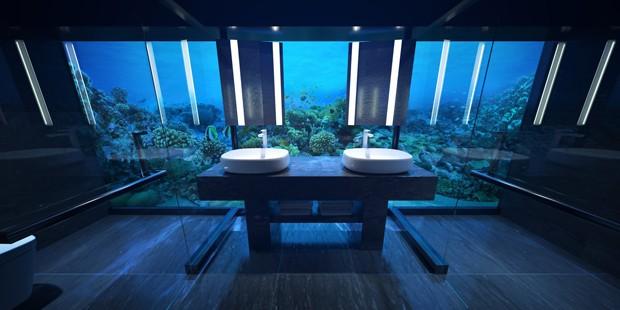 Primeiro hotel subaquático do mundo é aberto nas Maldivas (Foto: Reprodução)
