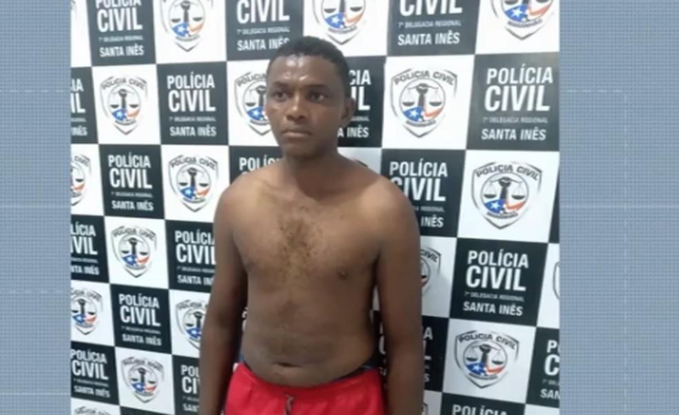 Homem suspeito de tentar matar ex-companheira em Bom Jardim — Foto: Reprodução/Tv Mirante
