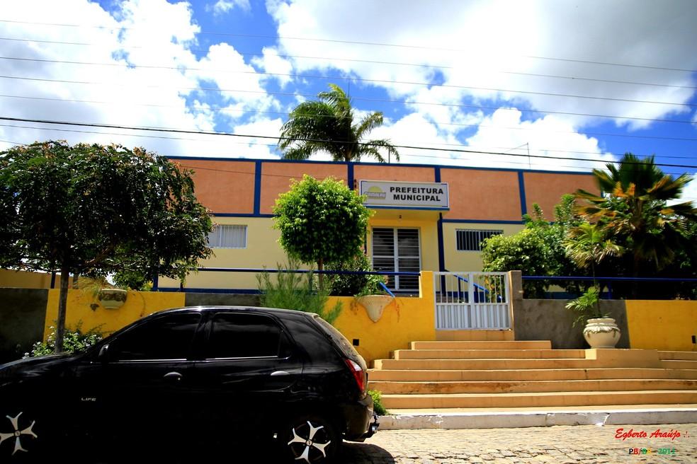 Prefeitura de Camalaú, na Paraíba — Foto: Egberto Araújo/Arquivo Pessoal