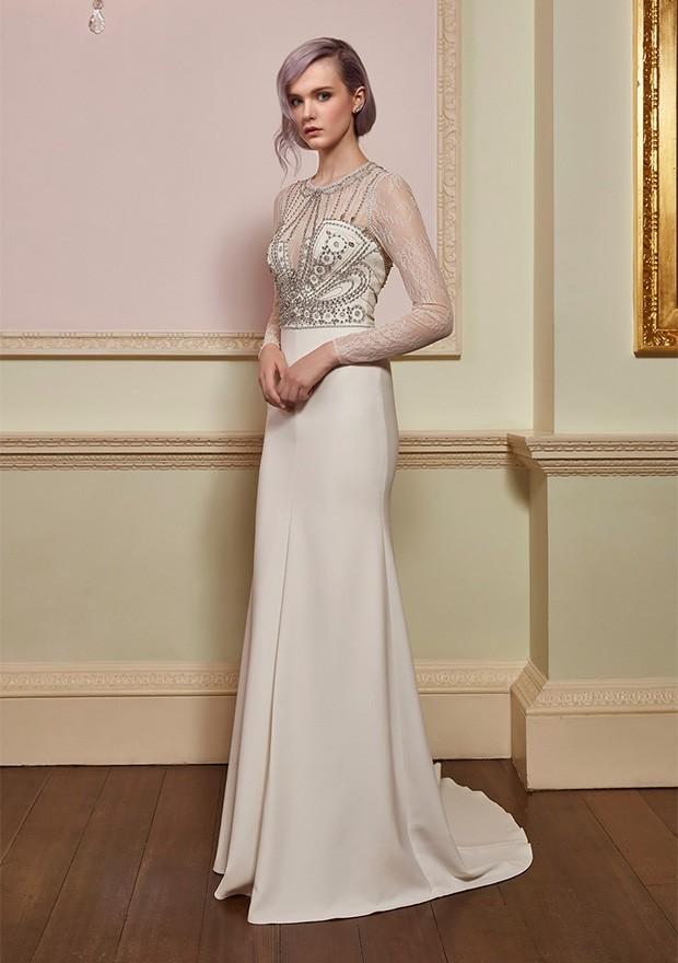 Vestido de noiva Jenny Packham (Foto: Divulgação)
