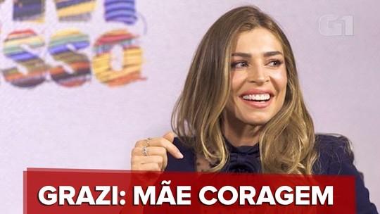 """Grazi fala da nova novela das 19h, """"Bom Sucesso"""""""