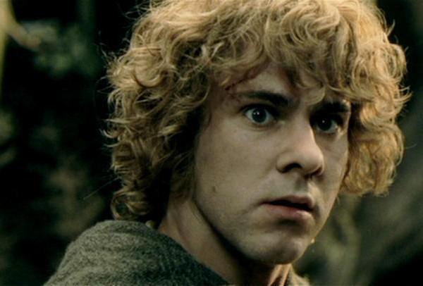 O ator Dominic Monaghan no papel do hobbit Merry em O Senhor dos Anéis (Foto: Reprodução)