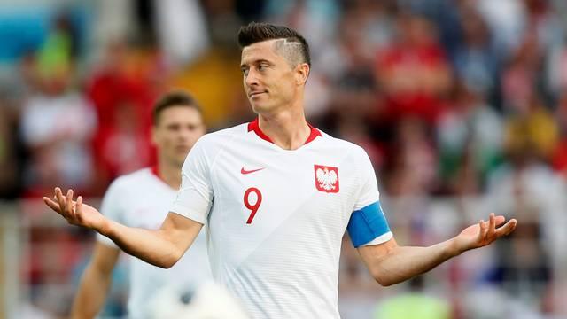 Lewandowski em Polônia x Senegal