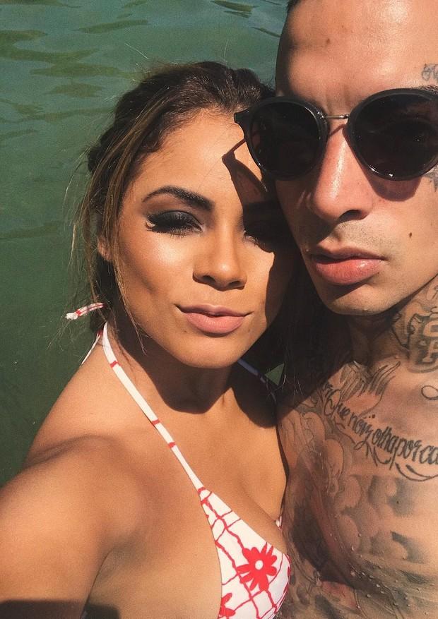 Lexa e Guimê em Ilhabela (Foto: Reprodução/Instagram)