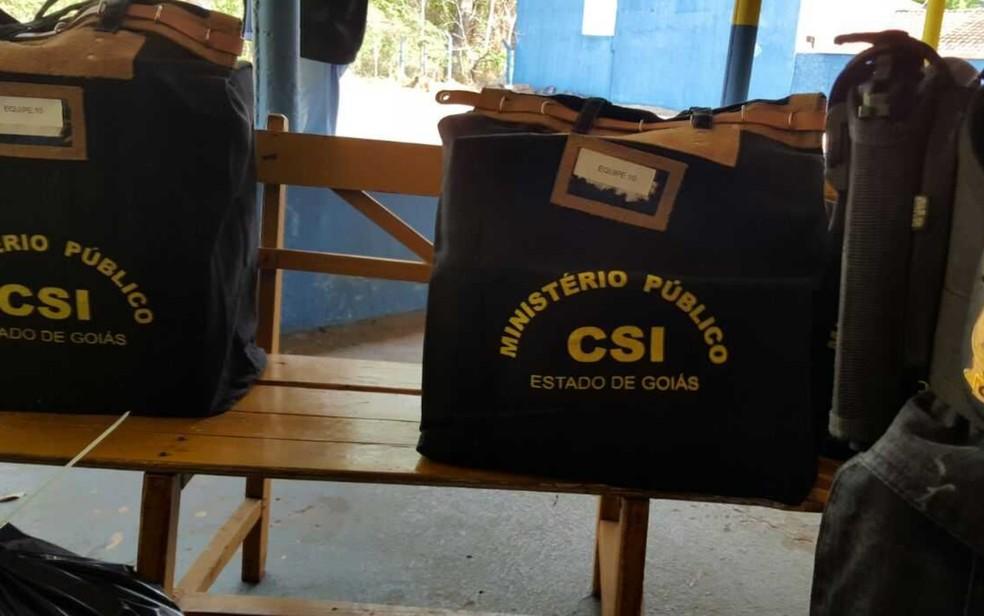 Operação contra fraude em programa de moradia popular prende ex-vereador, em Goiânia, Goiás (Foto: Divulgação/MP-GO)