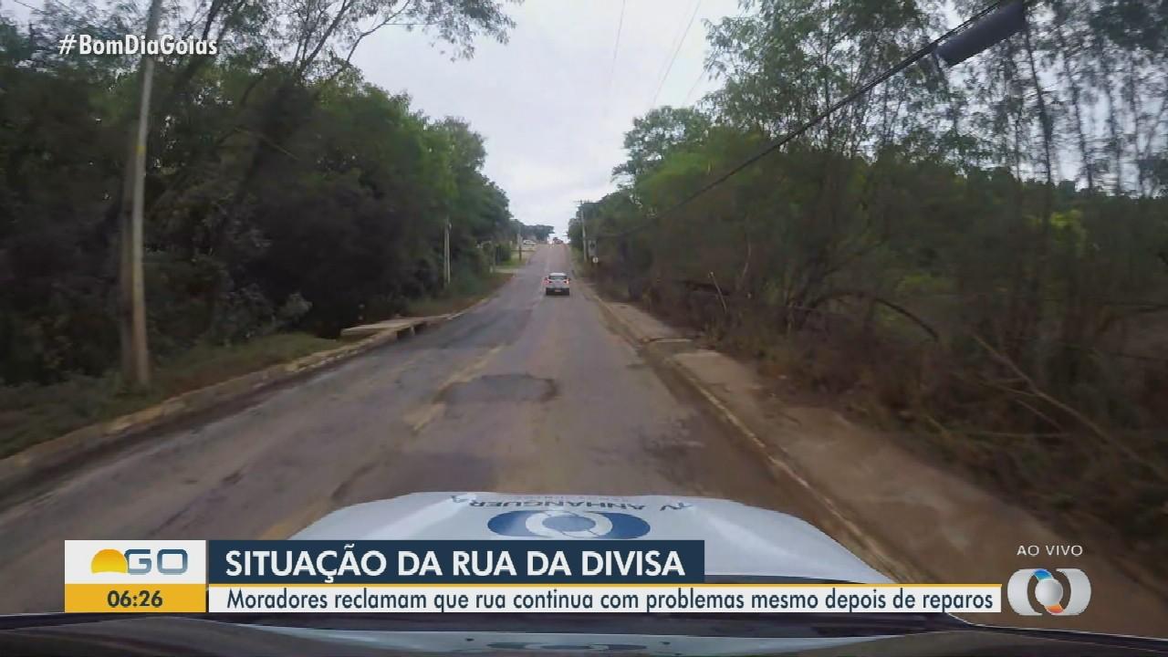 Confira como está trânsito na Rua da Divisa, em Goiânia