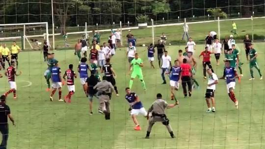 Final entre Goiás e Atlético-GO no sub-19 termina em pancadaria