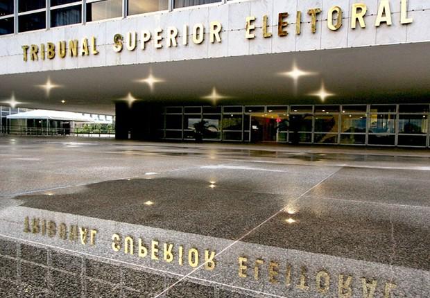 Fachada do Tribunal Superior Eleitoral (TSE) (Foto: Divulgação)