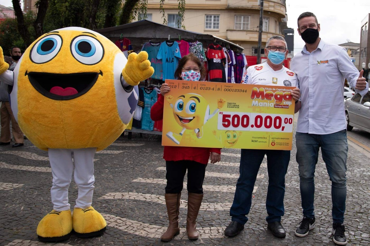 Morador de Ponta Grossa leva sozinho prêmio de R$ 500 mil da Megamania