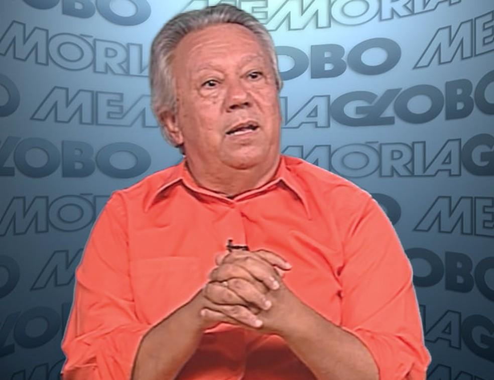 Juarez Soares, no Memória Globo — Foto: divulgação