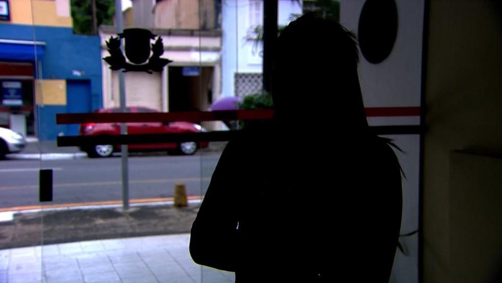 Vítima não quis se identificar — Foto: Reprodução/TV Globo