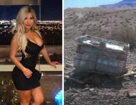 Corpo de atriz pornô e influencer mexicana é encontrado em bloco de concreto no deserto de Las Vegas