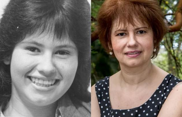 Narjara Turetta, que recentemente esteve em 'O outro lado do paraíso', viveu Flora Rosa, irmã da personagem de Fernanda Torres (Foto: TV Globo)