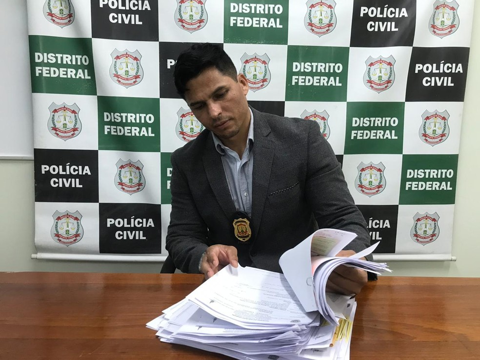Guilherme Sousa Melo, delegado da 26ª DP — Foto: Afonso Ferreira/G1