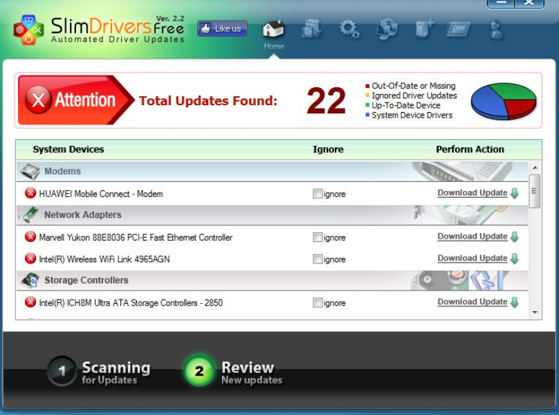 download driver update utility intel