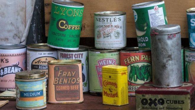 Somente em 1943, 16 milhões de latas de carne foram despachadas de Fray Bentos, a grande maioria para alimentar soldados do Eixo Aliados (Foto: DAVID FORSTER/ALAMY/BBC)