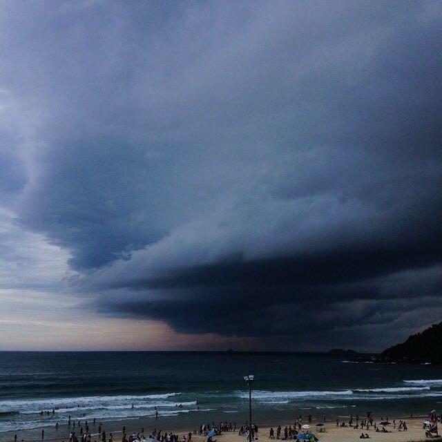 Sexta-feira tem previsão de chuva com possibilidade de temporal em SC - Notícias - Plantão Diário