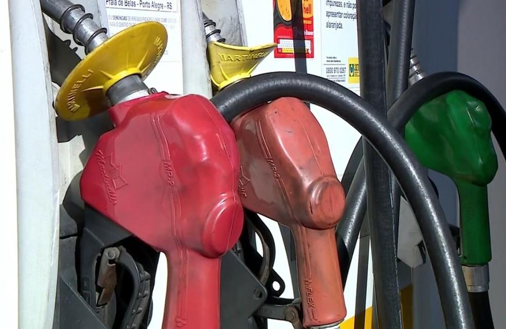 Posto de combustível (Foto: Reprodução/RBS TV)