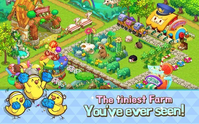 Fazenda feliz e fofinha neste game viciante (Foto: Divulgação)