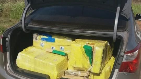PRF apreende 585 quilos de maconha após perseguição iniciada em Ourinhos