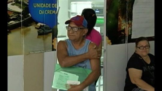 Baixa procura por vacinas contra a gripe preocupa autoridades em saúde no Pará