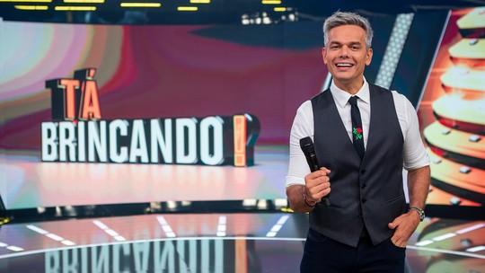 Otaviano Costa volta à TV em janeiro no 'Tá Brincando', novo programa da Globo