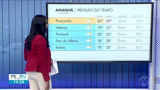 Domingo vai ser de tempo seco no Sul do Rio