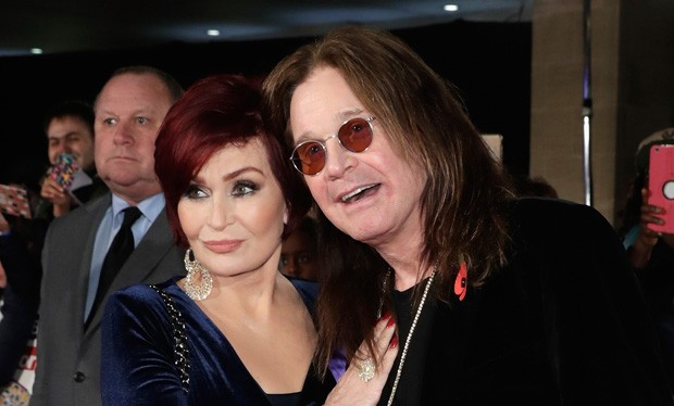 Sharon e Ozzy Osbourne (Foto: Getty Images)