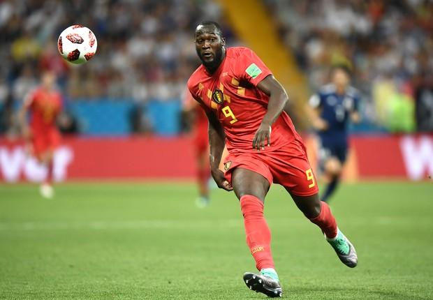 Romelu Lukaku, atacante belga, na Copa do Mundo de 2018 (Foto: Carl Court/Getty Images)