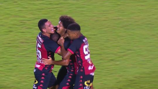 Vitória 2 x 2 CRB: assista aos melhores momentos e gols da partida