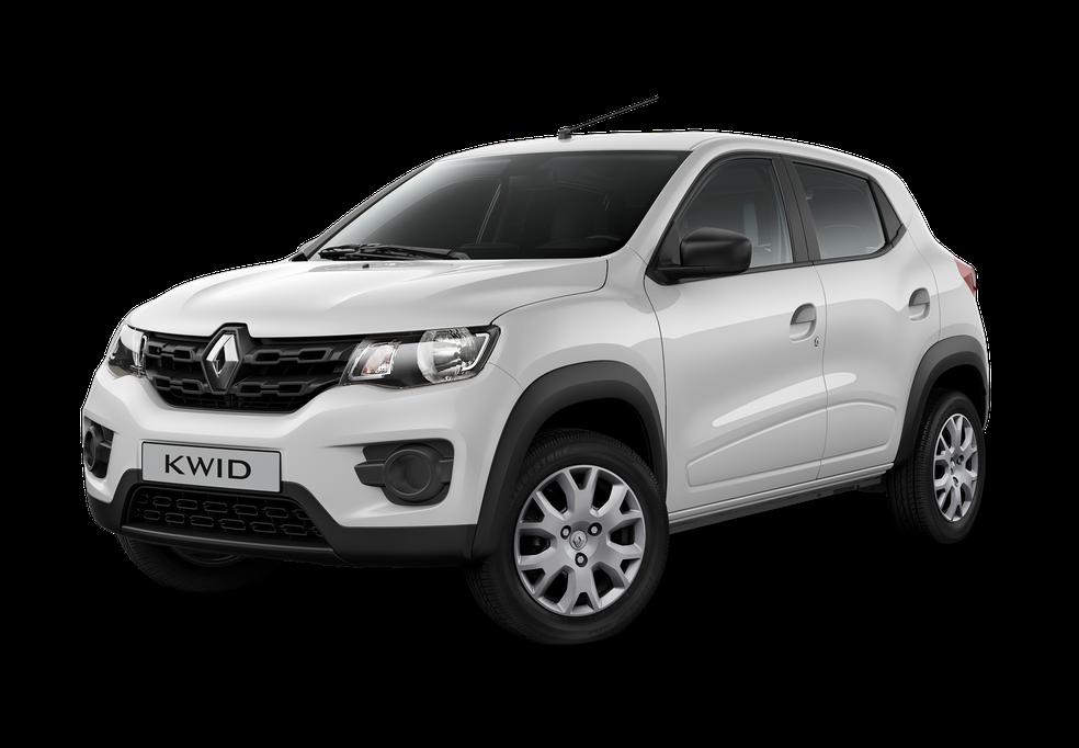Renault Kwid Life, por R$ 29.990 só na cor branca (Foto: Divulgação)