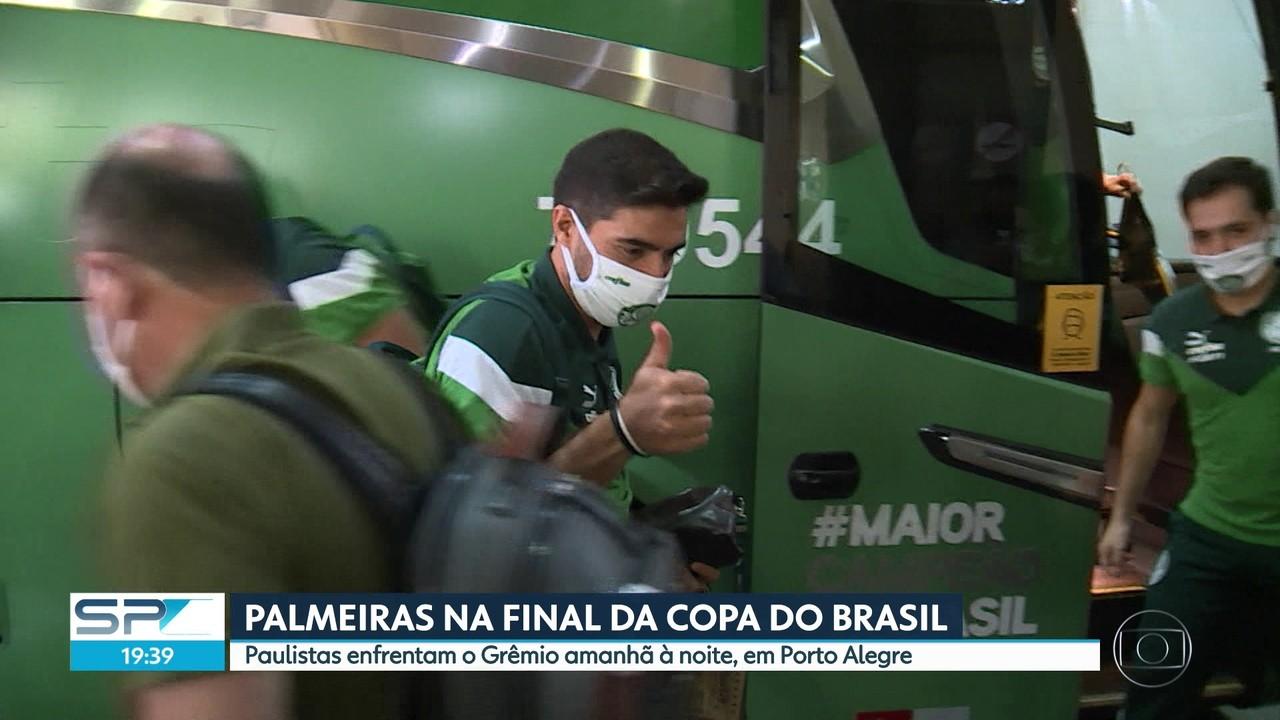 PALMEIRAS JOGA NO DOMINGO A FINAL DA COPA DO BRASIL