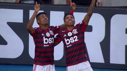 Gol do Flamengo: Rodinei cruza, e Bruno Henrique marca. Assista!
