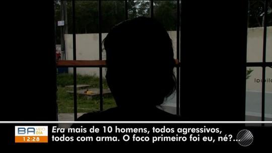 'Já chegaram me espancando', diz mulher agredida em invasão a assentamento na Bahia