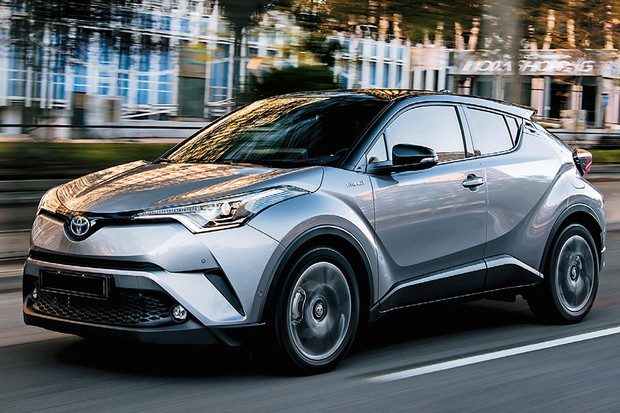 Toyota C-HR 1.8 HSD (Foto: Divulgação)