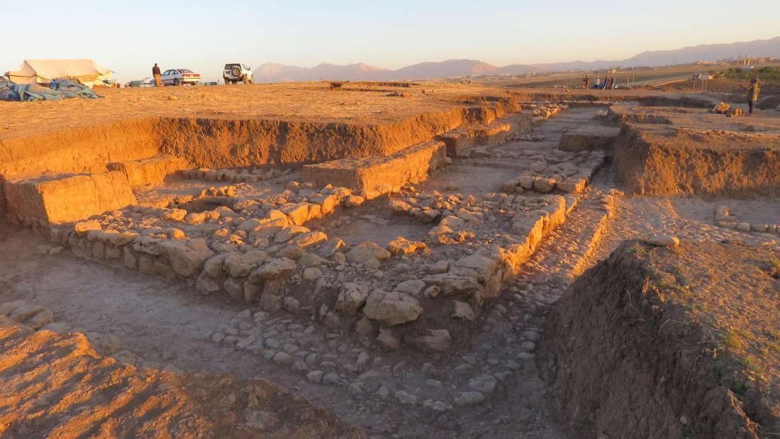 Área escavada em Kunara, no Curdistão, revela cidade perdida do Império Acádio (Foto: A. Tenu / Mission archéologique française du Peramagron)