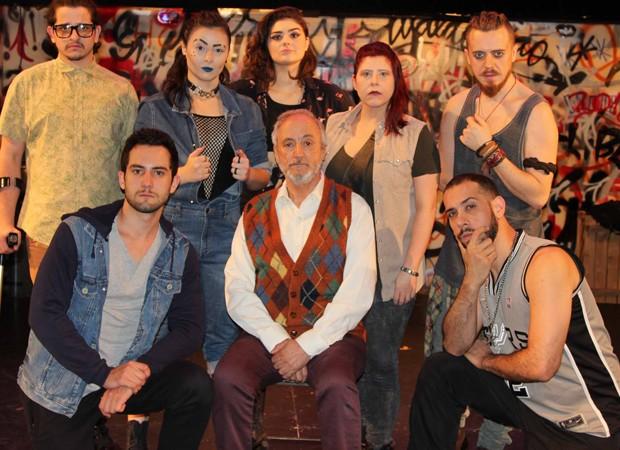 Elenco do Avesso O Musical (Foto: Foto: Ricardo Manga/divulgação)