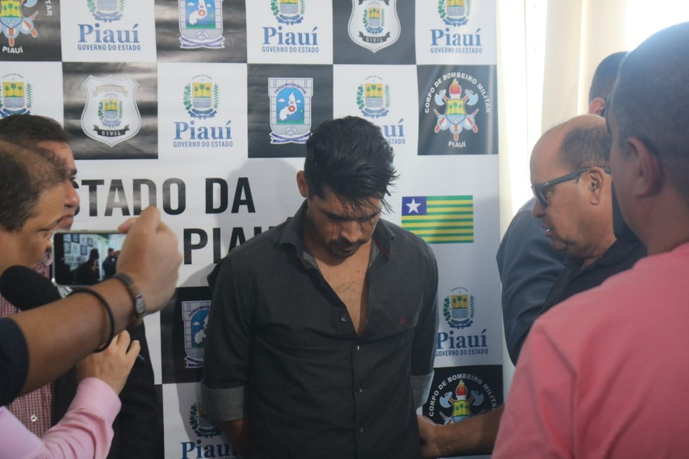 Suspeito de matar Gabriel Brenno, Deivid Ferreira pediu perdão. — Foto: Reprodução/TV Clube