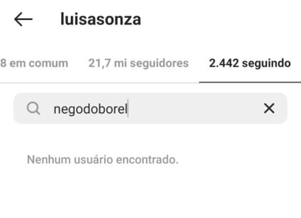 Luísa Sonza deixa de seguir Nego do Borel (Foto: Reprodução/Instagram)