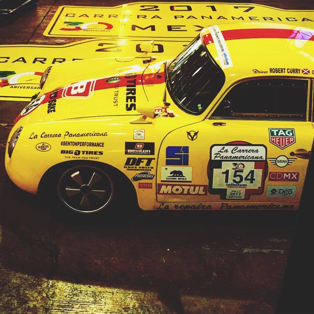 Porsche 356 #154 La Carrera Panamericana D (Foto: Divulgação/Benton Motorsport)
