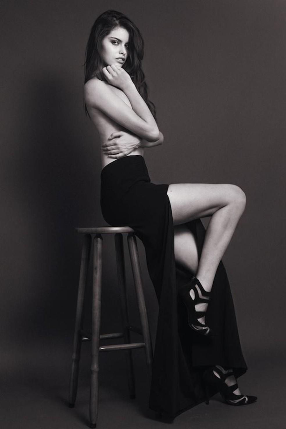 Miss atua como modelo e já participou de desfiles (Foto: Divulgação)