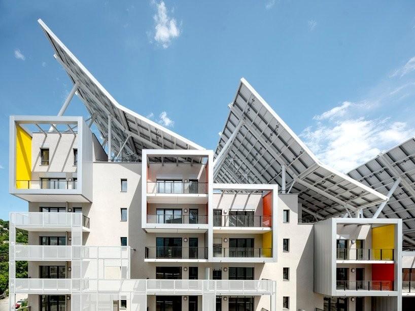 Complexo de edifícios residenciais é autossuficiente em água e energia